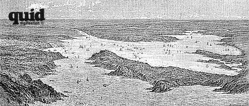 La rade de Brest fin du XIXème siècle