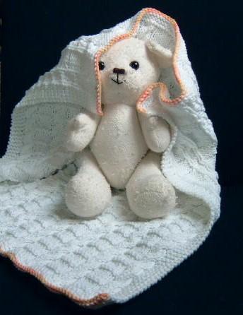 Une couverture en coton, Sarah Dallas knitting/sept05