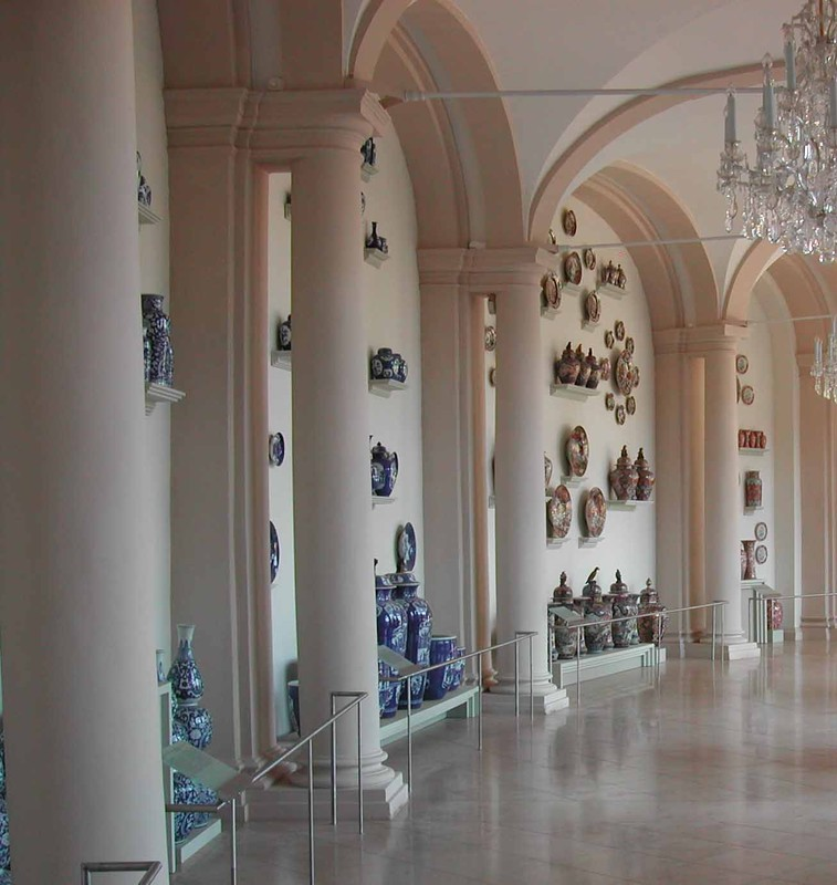 Collection de porcelaine, Bogengalerie au Zwinger