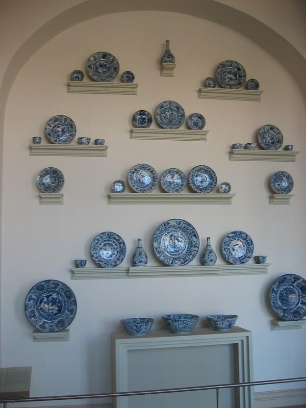 Vitrine Kraak porcelaine