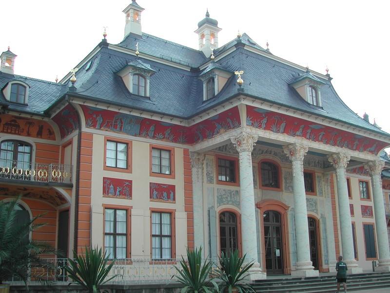 2. Le chateau de Pilnitz