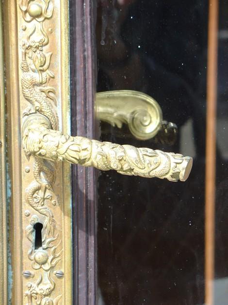 Détail : Poignée de porte