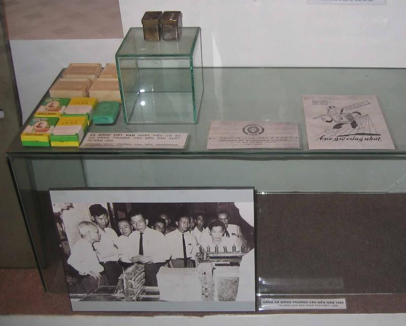 Vitrine au Musée de la Ville de Ho Chi Minh-Ville