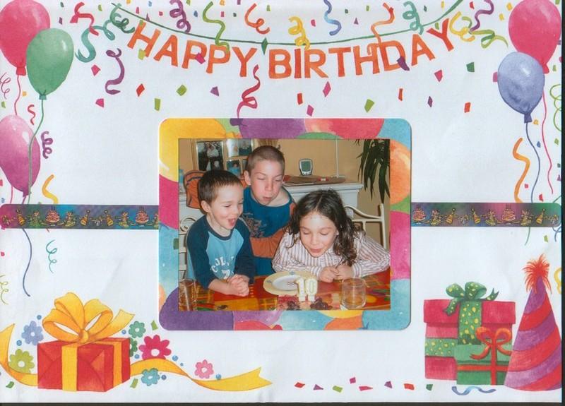 anniversaire Johanna