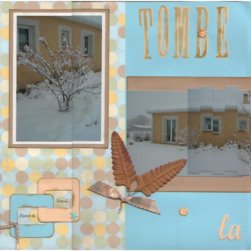 tombe la neige page 1