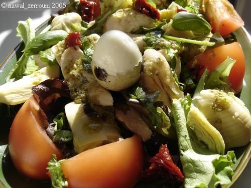 saladeartichauttomatespoulet1bis