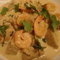 Crevettes_au_curry_rouge