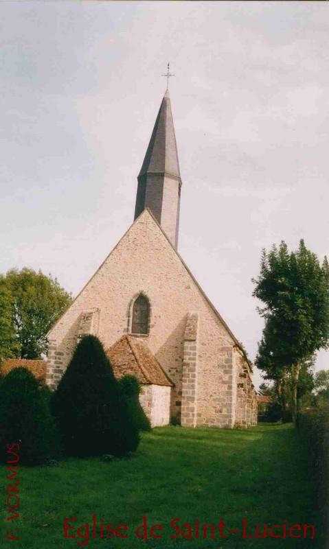 Eglise de saint-Lucien