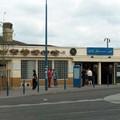 La gare reconstruite après le bombardement de 44