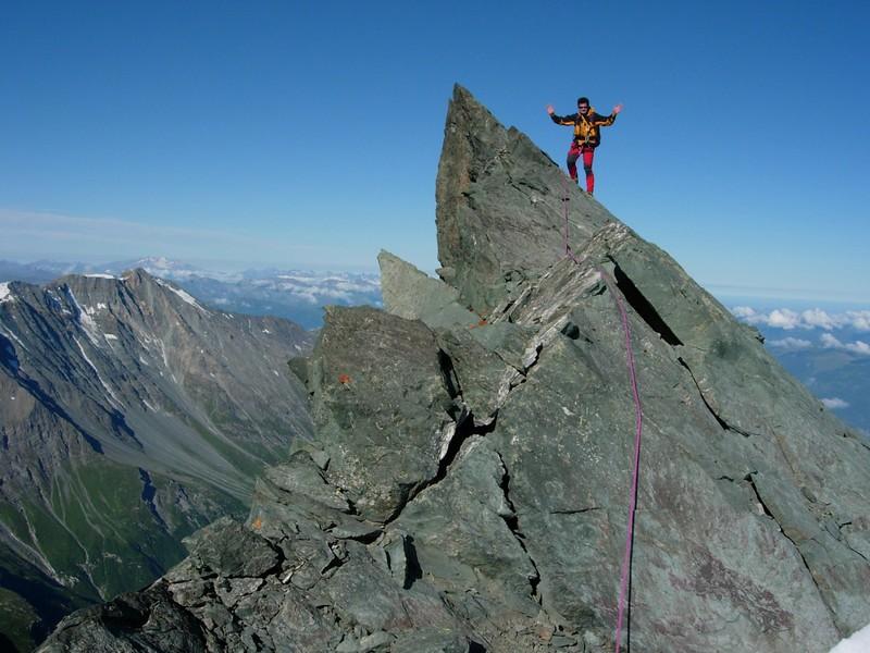 Au sommet du Mont Thuria