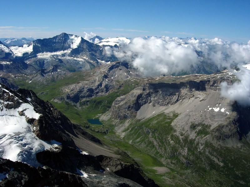 La Vanoise vue du Mont Pourri
