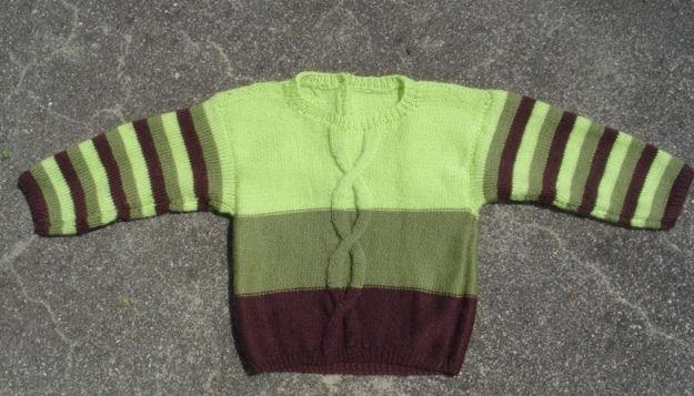 Pull enfant 1 an / modèle Phildar