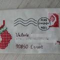 Enveloppe pour Valérie