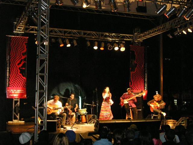 Concert à Ribeiro Preto, Brésil