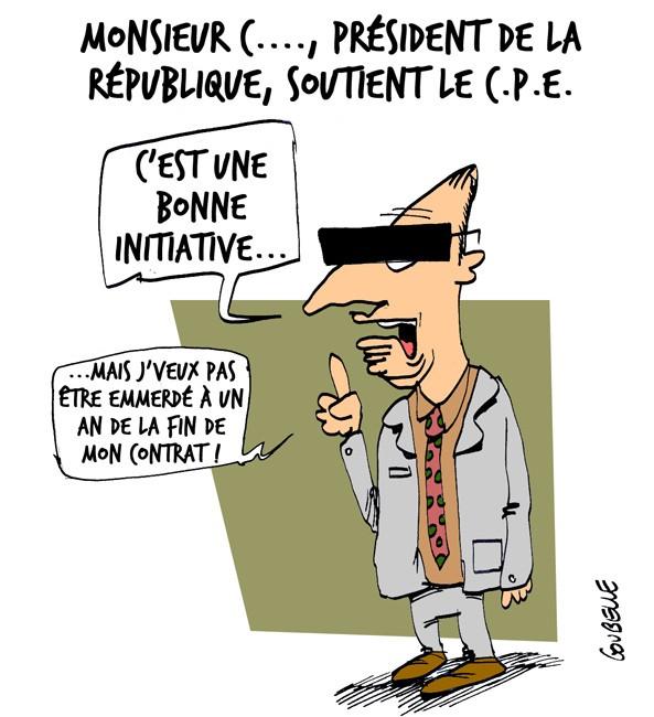 chirac cpe president