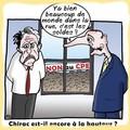 chirac est il encore present
