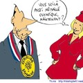 chirac médaille olympique