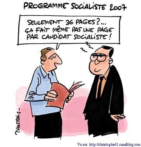 projet socialiste