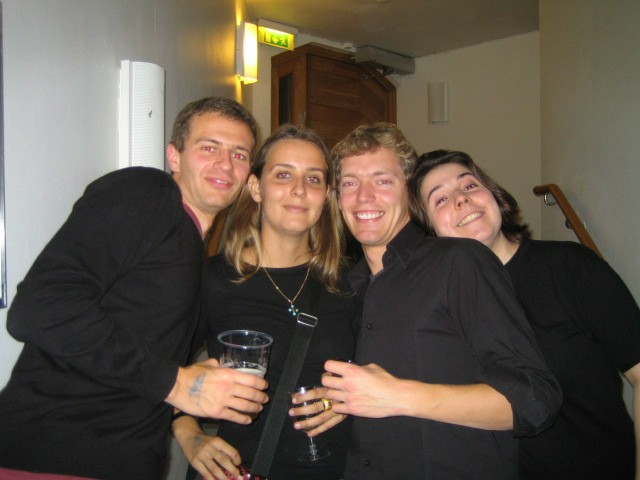 Christopher, Marie, Mat, Marrianne