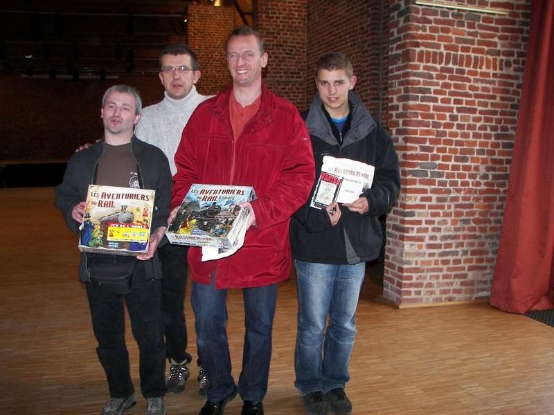 9 avril 2006 Tournoi Aventuriers du Rail