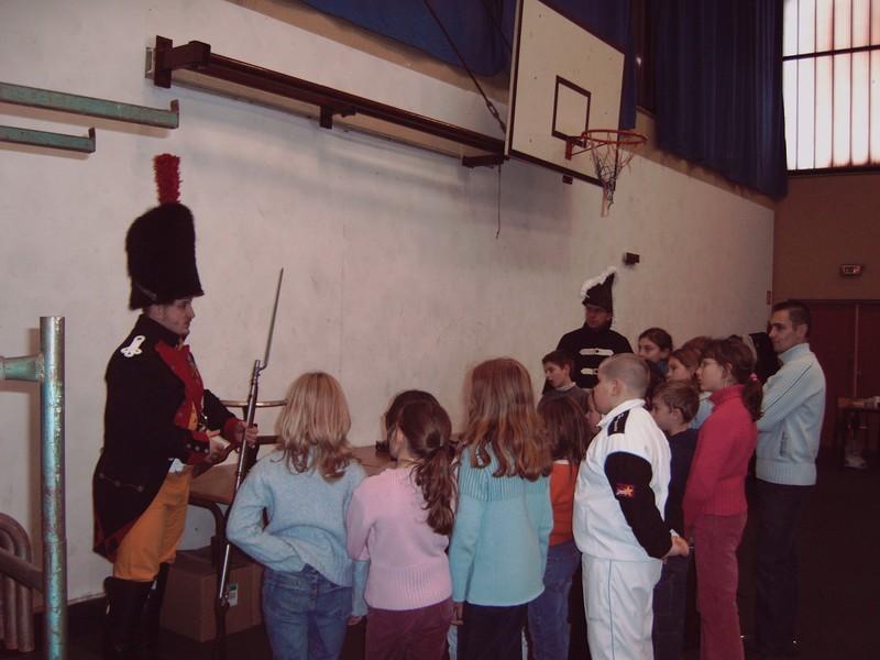 Bicentenaire bataille d'Austerlitz pour le Téléthon du 2 décembre 2005