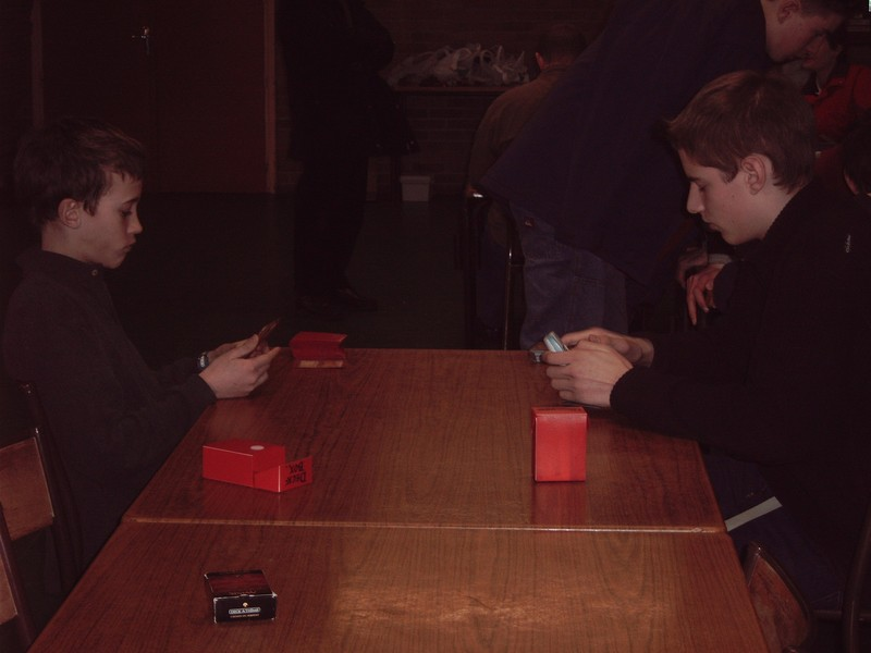 Tournoi cartes Magic le 19 février 2005