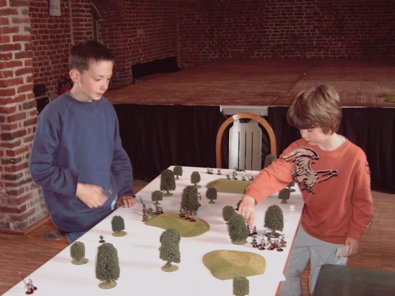 Tournois Multi Jeux Far West et Seigneur des Anneaux du 5 juin 2005