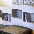 ETAGERE ZIG ZAG CD-DVD
