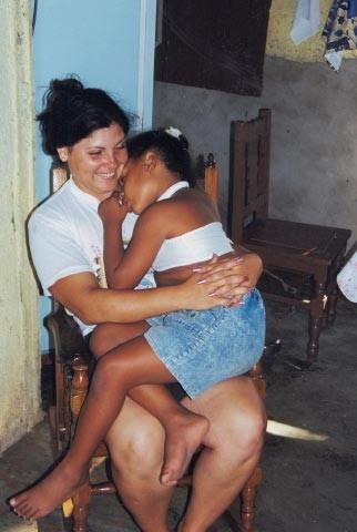 Mariela et sa fille