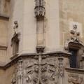 Détail d'ornement dans la cour de l'abbaye