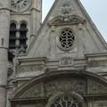 Façade de l'église St Etienne du Mont
