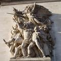 Un des plus beaux groupes de sculpture de l'Arc de Triomphe