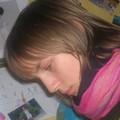 Manon à son bureau 2006