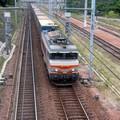 BB 7395 entre Dax et Bordeaux