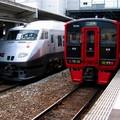 JR Ariake 787 & 813 à Kokura