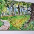Forêt2 (aquarelle)