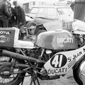 Ducati_750 au bol d'Or 1977 Le Mans