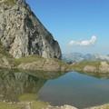 le lac, aprés 2 heures de marche
