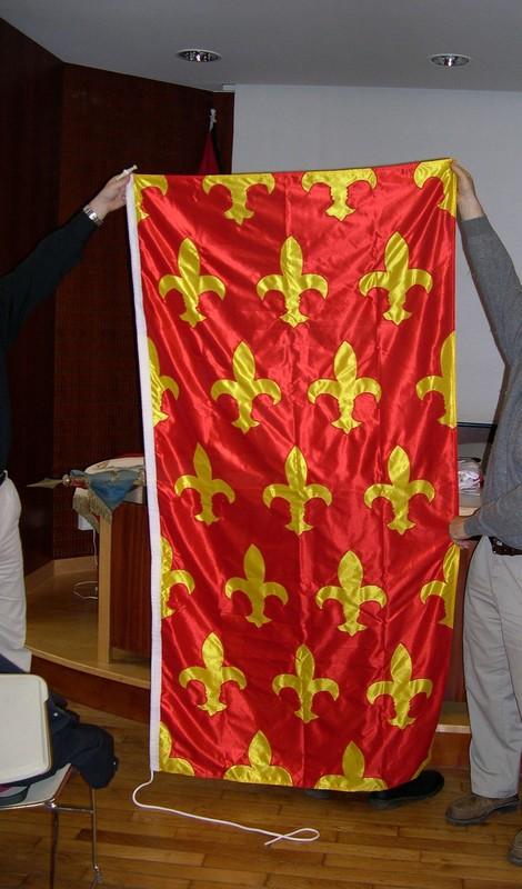 Bannière armoriée: Châteaubriand