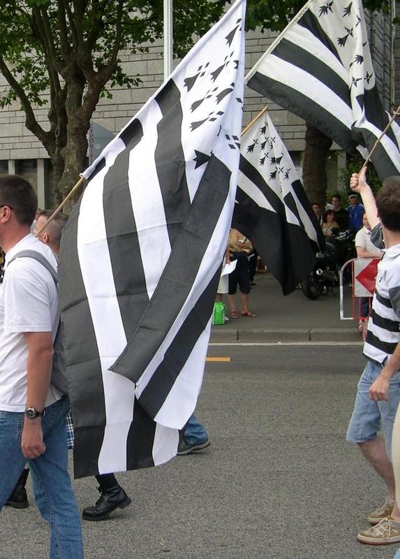 Politique: drapeau anarcho-breton