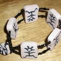 Bracelet ethnique.