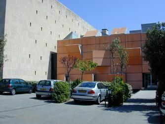 parking et entrée