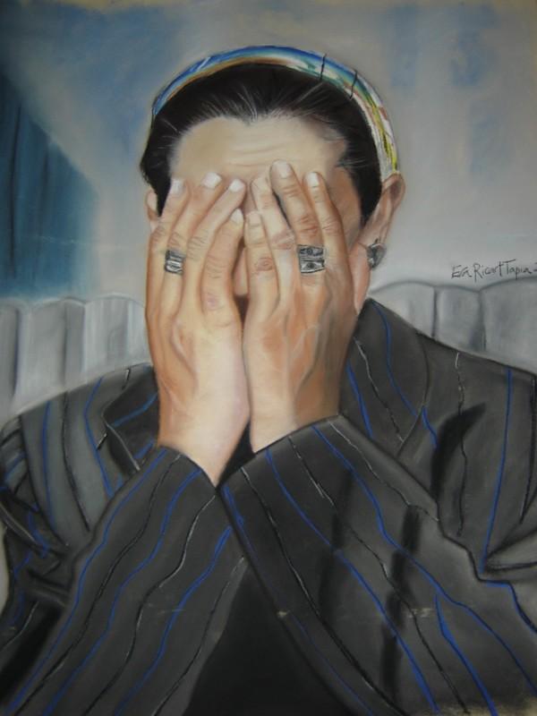 Mujer llorando - Femme qui pleure