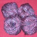 Flammé violet