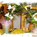art floral - bouquet arceau