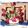 art floral - montage contemporain