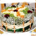 art floral - gateau