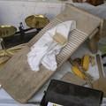 vitrine : planche à laver