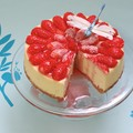 Cheese-cake aux fraises