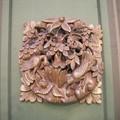 Bois exotique sculpté